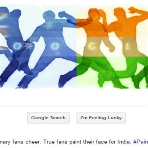doodle for india 2015 world cup 2015 semifinal australia v s india gets