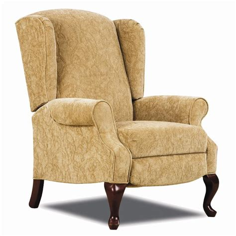 Reclining Wing Back Chairs by Hi Leg Recliners Traditional Heathgate Hileg Recliner With Wing Back Sides And