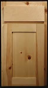 Knotty Pine Kitchen Cabinet Doors by Knotty Pine Shaker Style Cabinets For The Home Pinterest