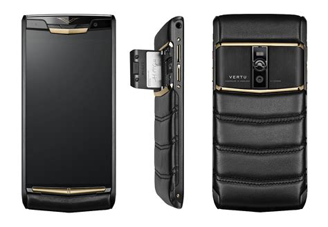 vertu phone vertu launches signature touch luxury phone