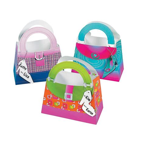 Girly Gifts - girly gift bags with shoe tag orientaltrading