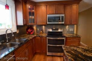 Kitchen Furniture Columbus Ohio Cherry Shaker Kitchen