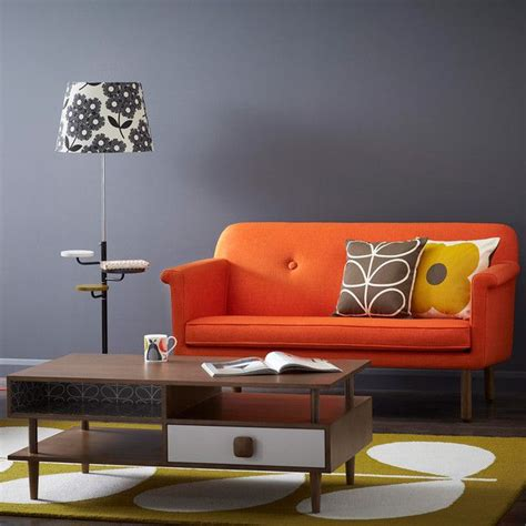 sofa orange color best 25 orange sofa ideas on pinterest orange sofa