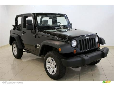 Black Jeep 4x4 2009 Black Jeep Wrangler X 4x4 30617033 Photo 6
