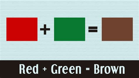 what two colors make what colors make brown the origin of the sepia effect