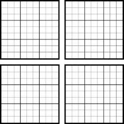 Sudoku Template by Sudoku Blank For Excel Pdf And Word