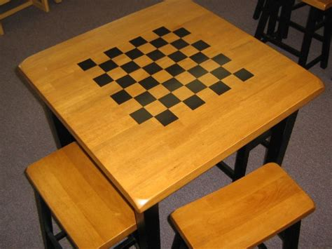 woodworking cling table chess table decal library misc tables