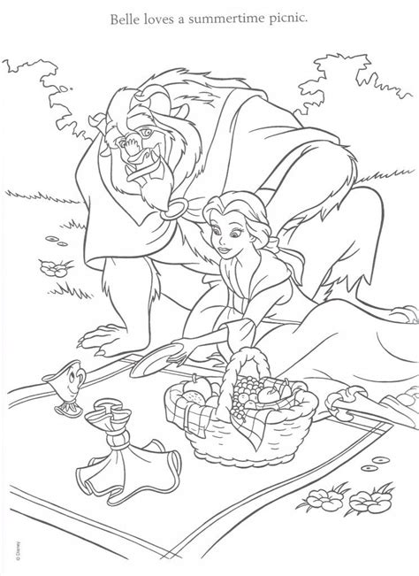 Free Coloring Pages Of G Page Picnic Picnic Coloring Pages