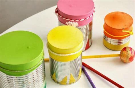 proyecto de instrumentos musicales con material reciclado en primaria instrumentos musicales reciclados tambor 5 imagenes