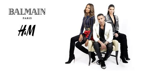 Balmain X H&M Collaboration Announcement