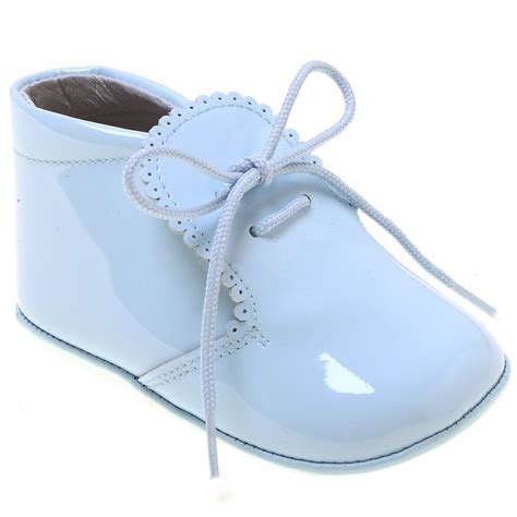 baby boy and shoes beautiful baby boys baby blue patent shoes scallop edge