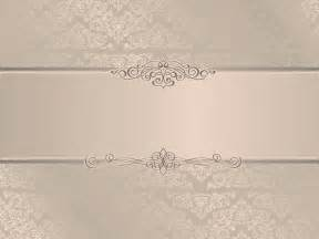 Free Wedding Powerpoint Templates Backgrounds by Wedding Invitation Ppt Backgrounds Beige Border