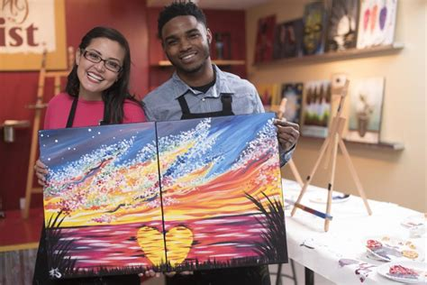 paint with a twist couples the top 10 rock date nights rock