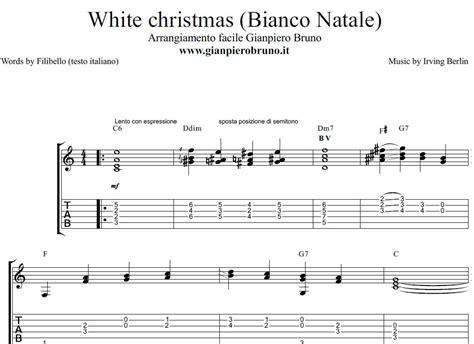 testo di bianco natale bianco natale white canzone per natale