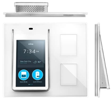 wink adds touchscreen based home automation hub