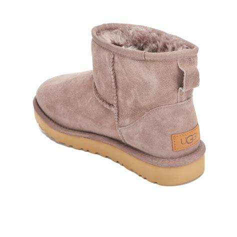 Mini Classic Ii Baby ugg s classic mini ii sheepskin boots grey womens footwear thehut