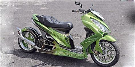 Cover Motor Skydrive by Modifikasi Suzuki Skydrive Stabil Berkat Engine