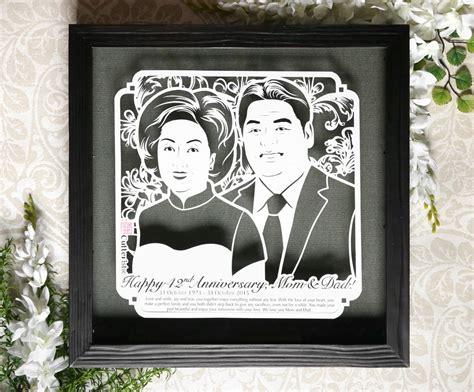 Kado Unik Ulang Tahun Anniversary Wedding Dll 12th wedding anniversary cutteristic