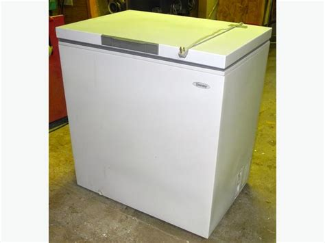 Chest Freezer Second 7 cubic ft chest freezer bay cbell river