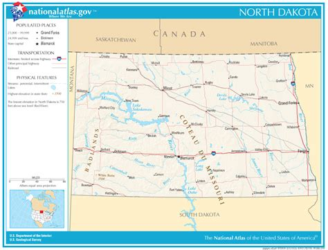 nd road map dakota state maps interactive dakota state road maps state maps