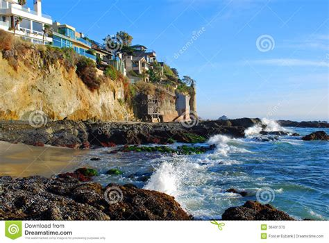 the cliff house laguna tower and cliff side homes in south laguna