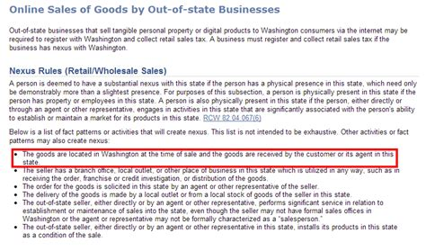 what is washington state sales tax when and how to collect sales tax in washington