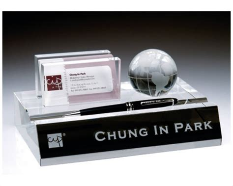 engraved desk name plates with business card holder engraved name plate business card pen holder
