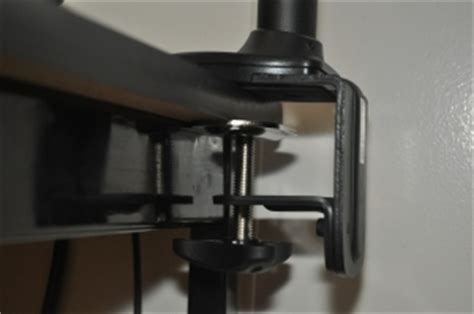 monitor arm glass desk silverstone arm11sc arm one monitor mount review phoronix
