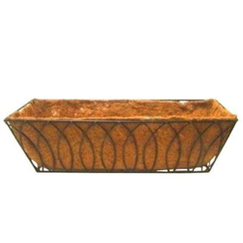 pride garden products 24 in coco window box 99141