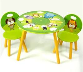Toddler Table And Chairs by Wooden Table And Chairs For Homesfeed