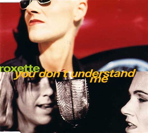 you understand me roxette you don t understand me cd at discogs