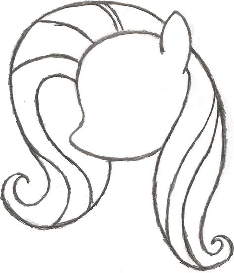form     pony coloring page   pony