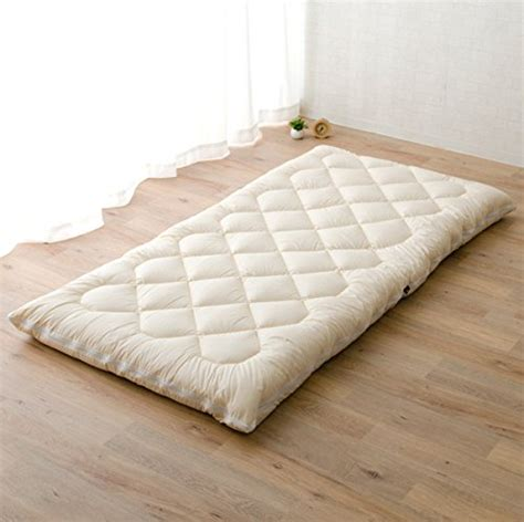 japanese futon bed emoor washable futon mattress shikibuton twin size