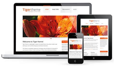 concrete5 tiger theme