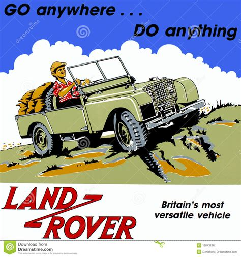 classic land old vintage land rover truck editorial photo image 17843116