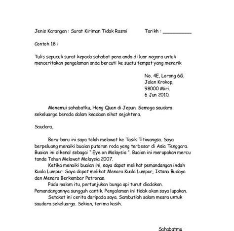contoh karangan upsr surat kiriman rasmi memesan buku