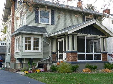 Enclosed Porch Enclosed Porch With Character Grey Green With