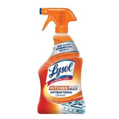 lysol antibacterial kitchen cleaner spray oz target
