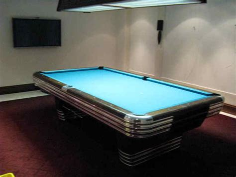 Brunswick Centennial Pool Table by Past Independent Billiard Services Has Done