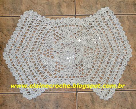 tapetes coloridos de croche jogos e amostra decoracao elaine croche tapete dual em croch 234 barbante s 227 o francisco