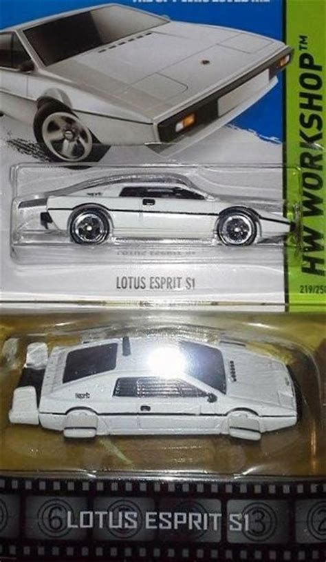 Hotwheels Lotus Jamesbond wheels 2014 retro bond 007 lotus esprit si