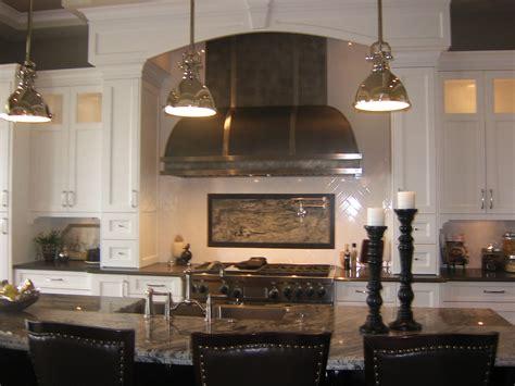White Kitchen Black Island by Custom Range Hoods 66 Quot Wide Blackened Steel With