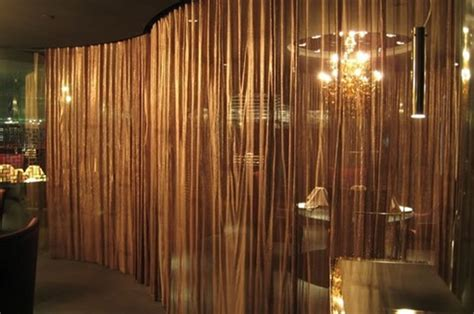 metal drapery metal wire mesh curtains decorative fabrics for interior