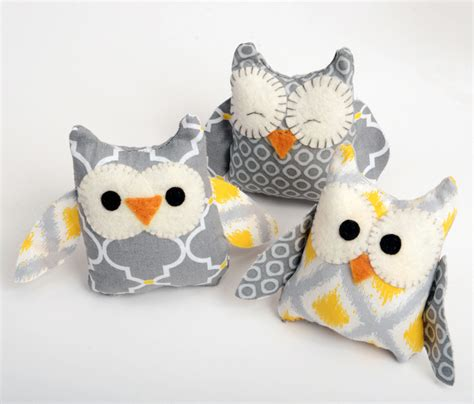 free craft projects easy owl softie craft crafts