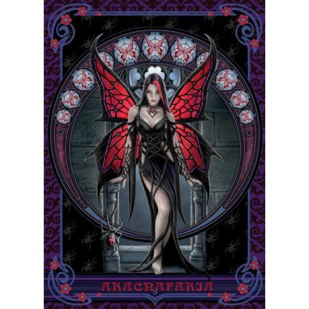 anne stokes mystic muses collection aracnafaria holdson