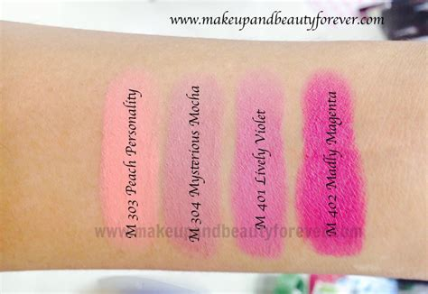 Lipstik Wardah Blooming Pink All Maybelline Color Show Matte Lipstick Review Shades