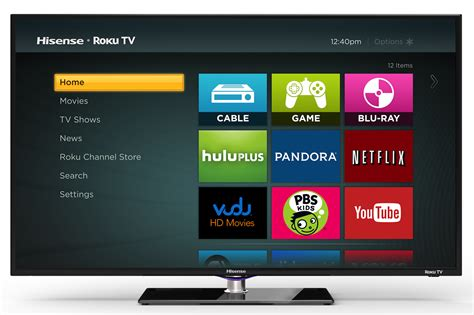 Tv Hisense hisense h4 40 inch roku tv a smart bargain