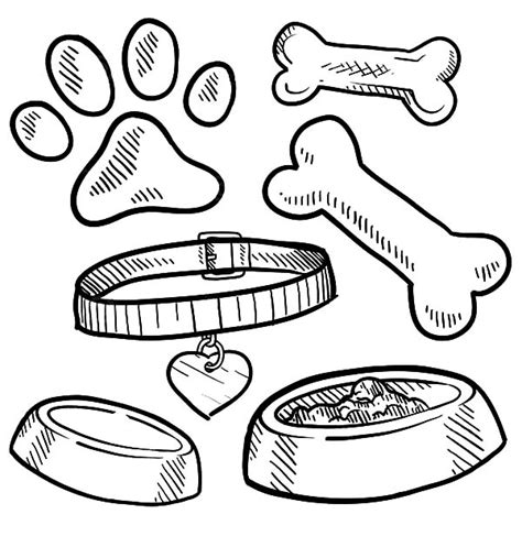 dog treat coloring page 13 images of dog food bowl coloring page dog bowl