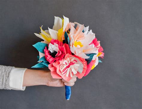 Paper Flower Bouquet Craft - 7 paper flower crafts for s day handmade