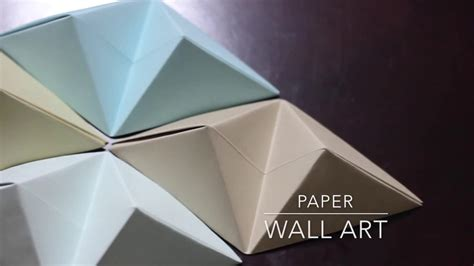 Origami Wall Diy - origami wall diy 72 for blue and brown wall